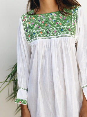 Chiapas embroidered blouse
