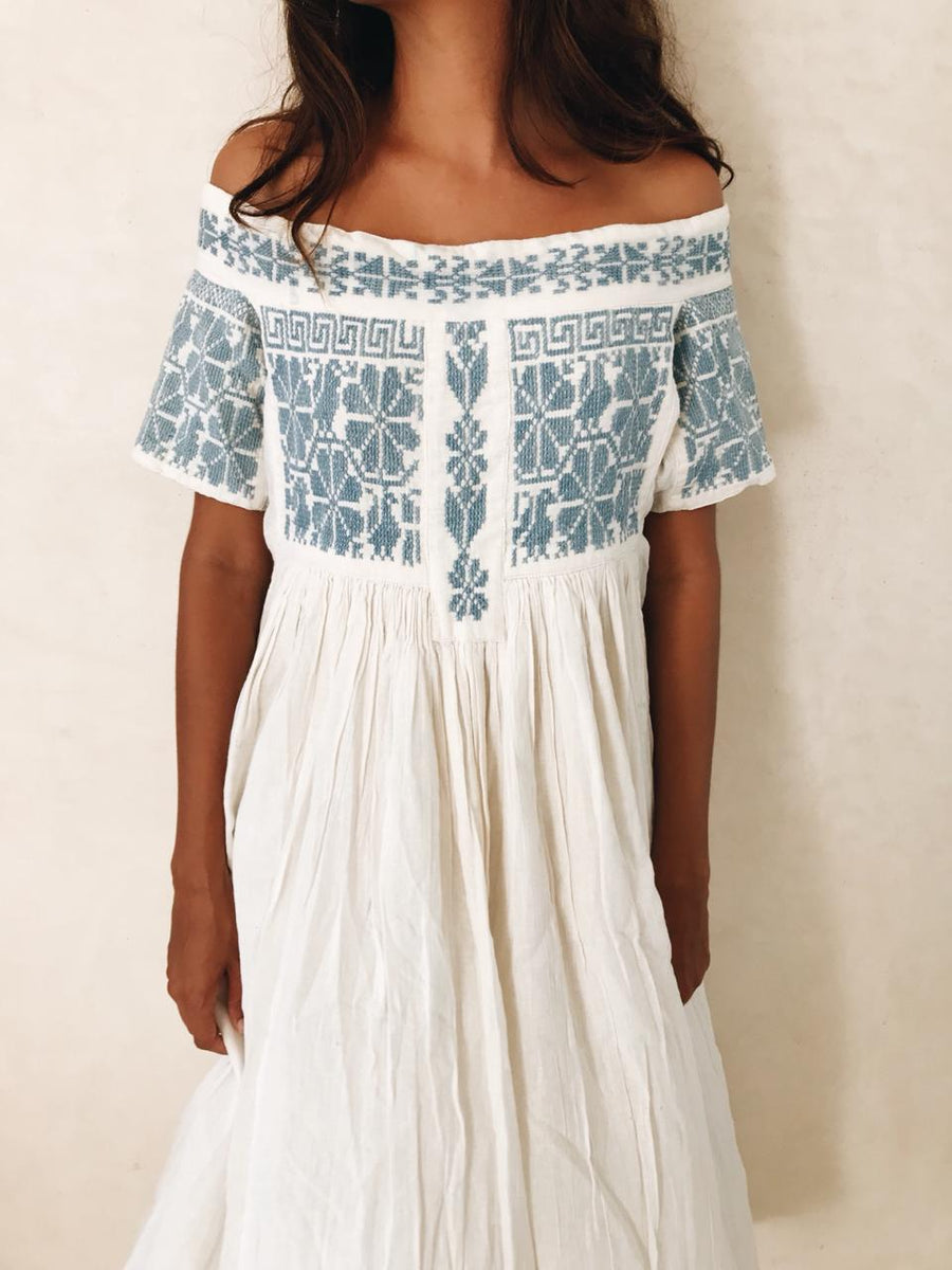 Oaxaca embroidered dress