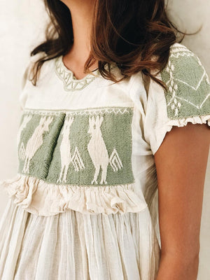 Oaxaca embroidered top