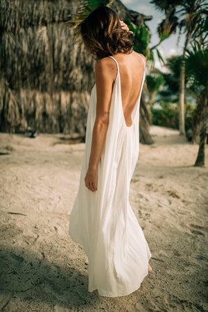Low Back Strappy Dress | Coba