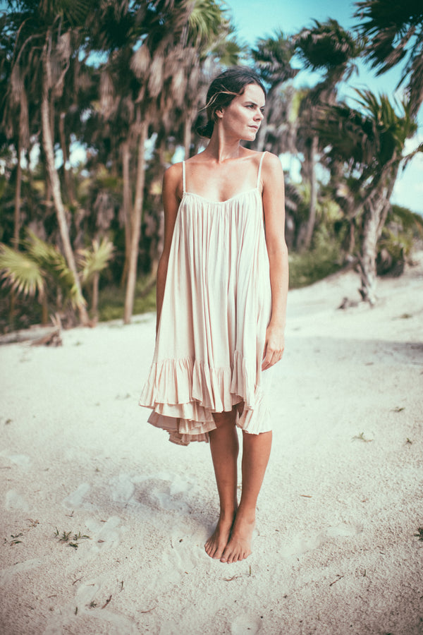 beach dress, beach cover up, summer dress, flowy dress, mini dress, ruffle mini dress, tiered ruffle mini dress,