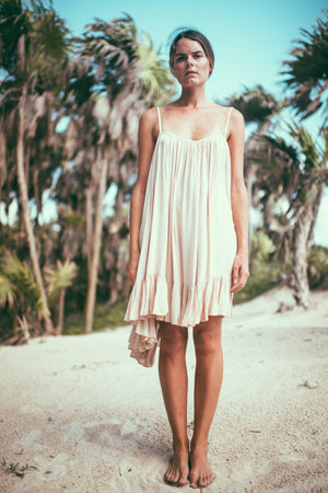 Ruffle Mini Dress | Sian Kaan short