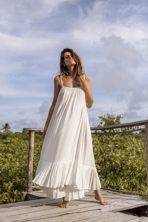 ruffle dress, maxi dress, beach dress, long summer dress, maxi beach dress, flowy dress, long flowy dress, white flowy dresses, boho dress, halter dress