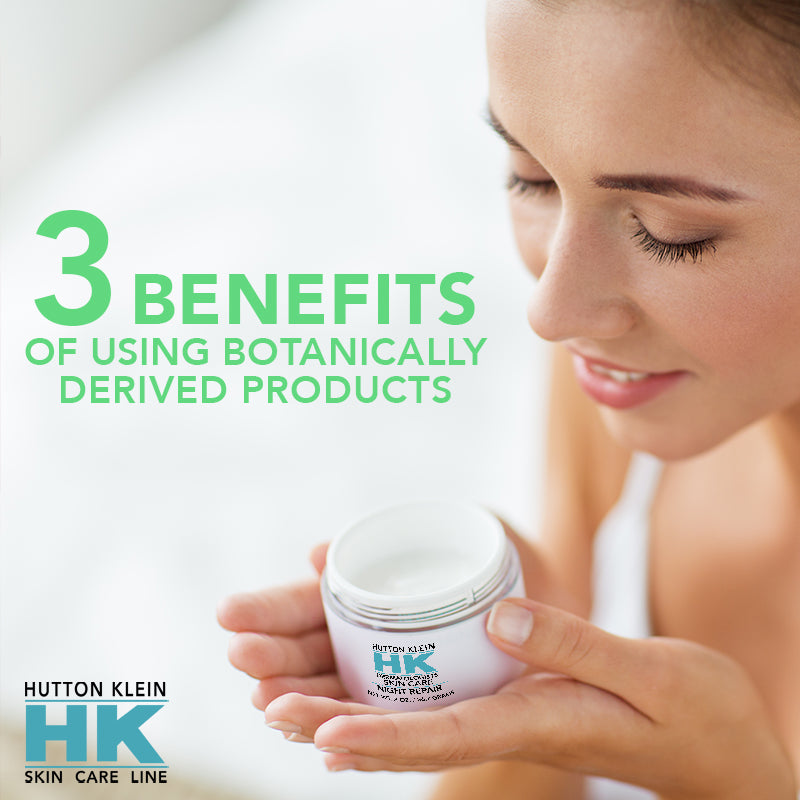 3 Benefits of Using Botanically-Derived Skincare Products