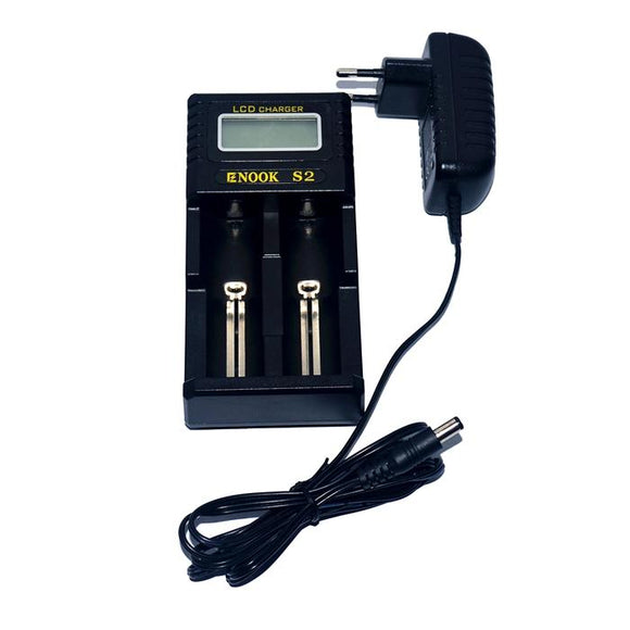 ENOOK S2 2 Bay Battery Charger