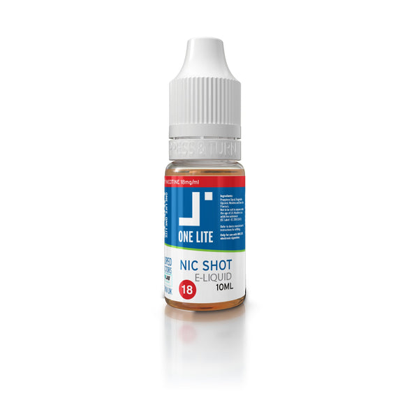 NICOTINE SHOT 10ml-18mg (Box of 25)