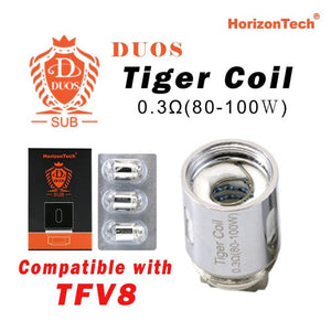 Horizon Duos/Arco 2 SUB Tiger Coil (Pack of 3)