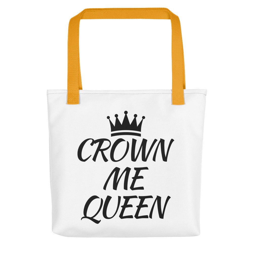 Crown Me Queen Tote bag
