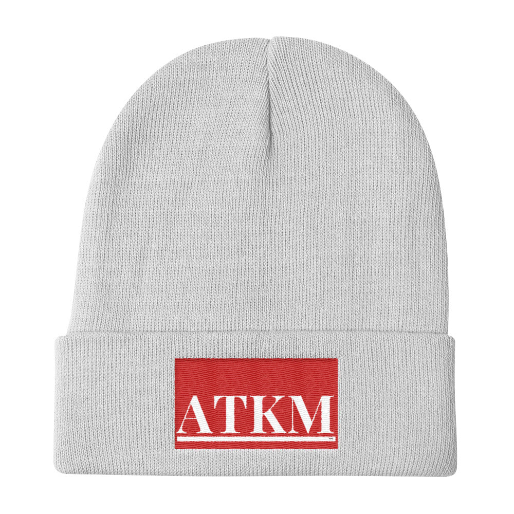 ATKM Label Knit Beanie