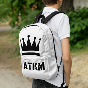 ATKM Crown Backpack (white/black)