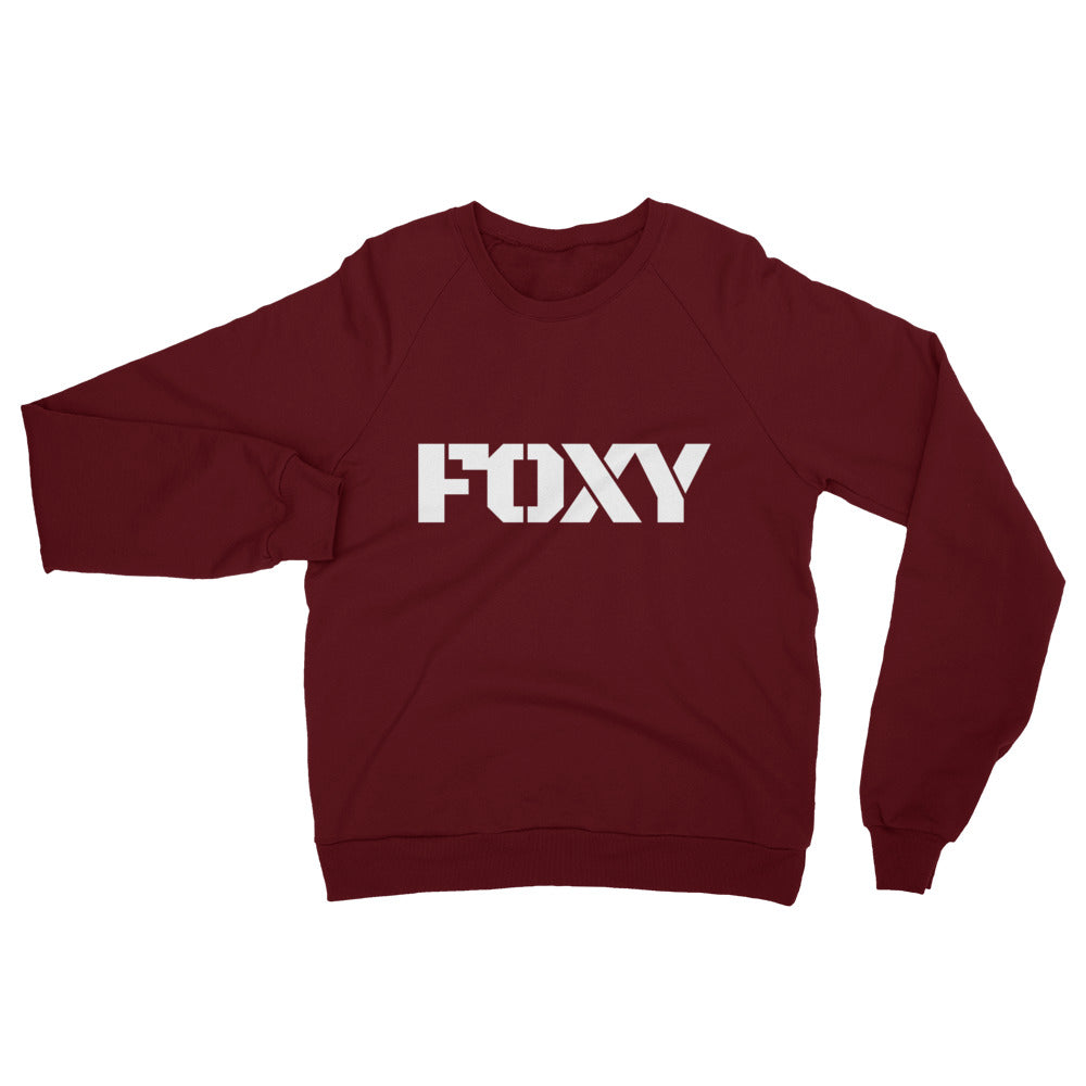 FOXY Ops California Fleece Raglan Sweatshirt