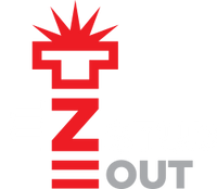 EZ STUD OUT logo white
