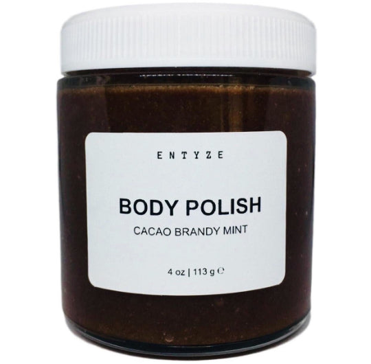 Cacao Brandy Mint Body Polish