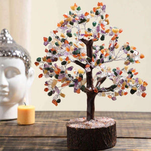 Crystal Gemstone Wishing Tree - apartment18