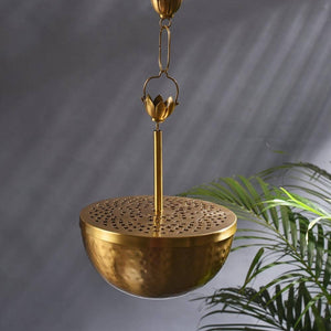 Home Purifying Brass Hanging Loban