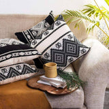 Aztec Jacquard Cushion Covers - Set of 4