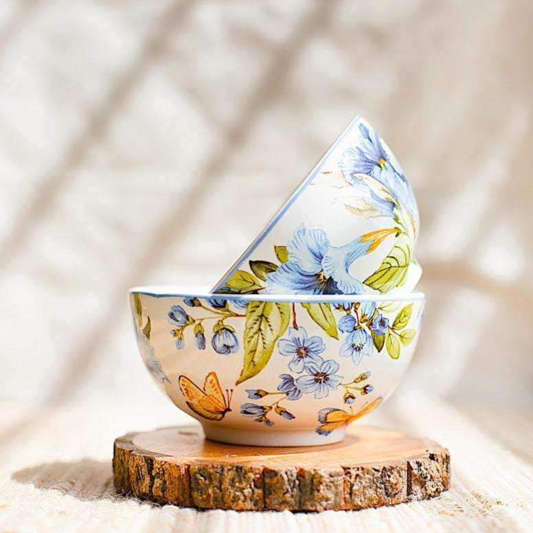Nishat Bagh Bowls- Set of 4 - apartment18
