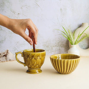 Marigold Coffee Mug - Set of 2