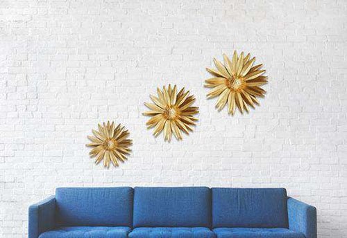 Daisy Wall Art- Set of 3