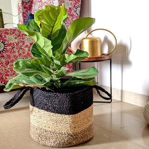Organic jute Basket apartment18