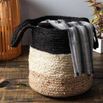 Multipurpose Organic Jute Basket- Set of 2