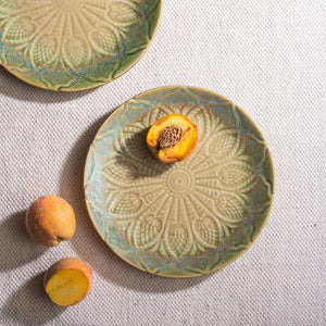 Olive Leaf Plates - Set of 6 - apartment18