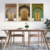 Jaipur Palace Wall Art - Set of 3 apartment18