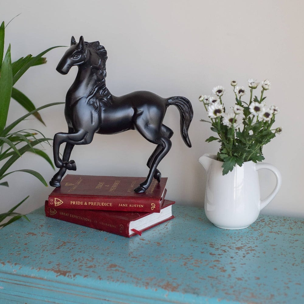 Black Beauty Horse Figurine