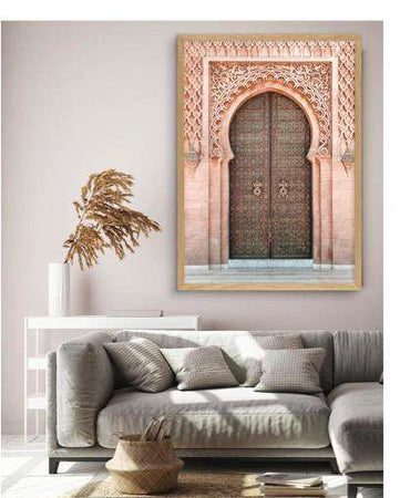 Moroccan Gate Wall Art apartment18