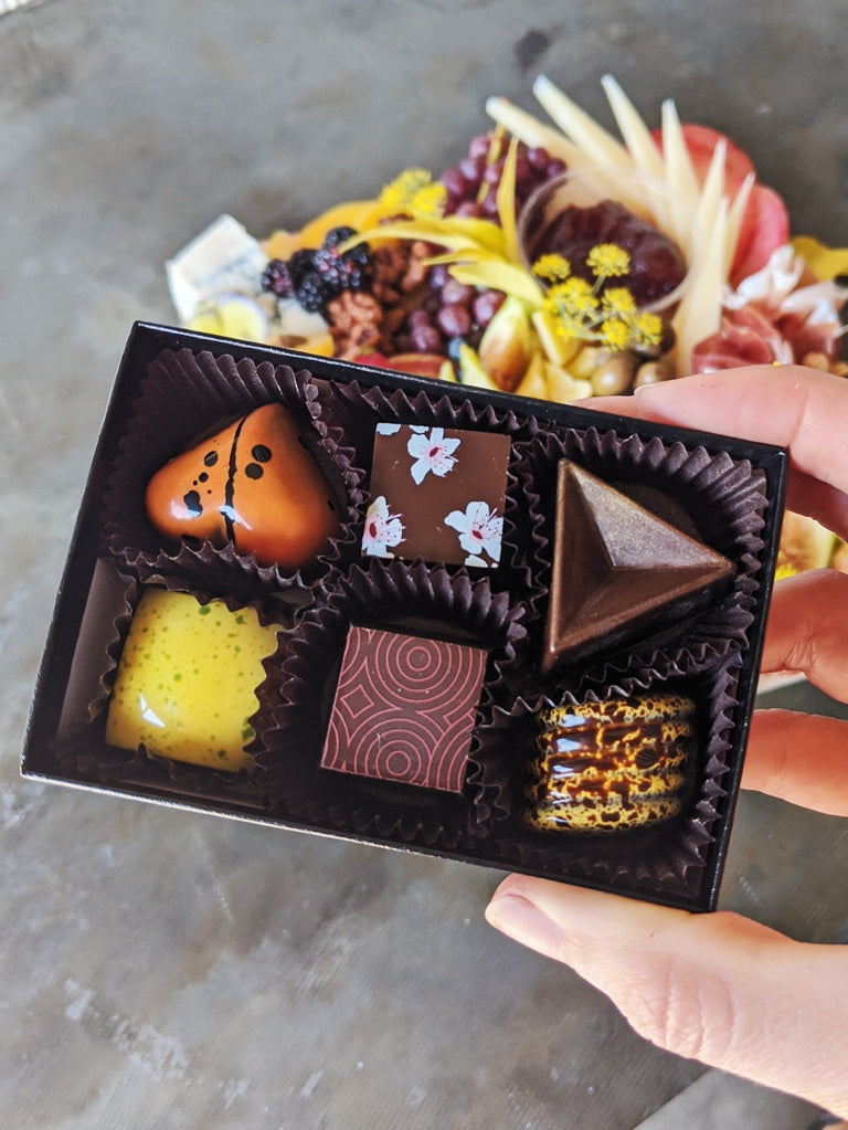 mini board + formosa chocolates