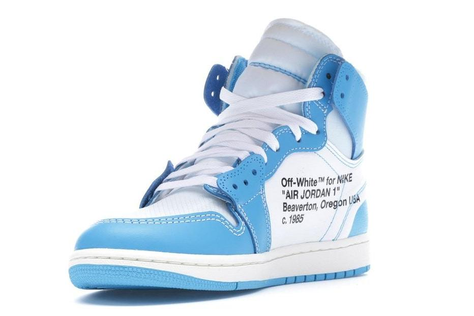 78a924ca35c7 100% Authentic NIKE Air Jordan 1 X Off-White Men s Basketball Shoes ...