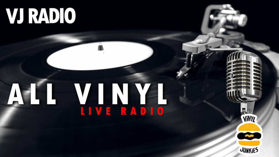 VJ Radio | Vinyl Digs: Prog, Hip-Hop, Psych, Post-Rock