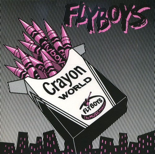 Crayon World/Square City [Single] [Pink Vinyl] [Limited Edition]