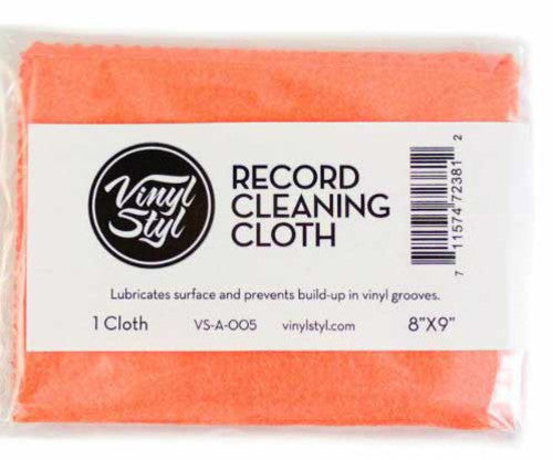Vinyl Styl™ Lubricated Cleaning Cloth (Single)