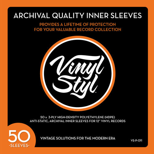 Vinyl Styl™ Archive Quality Inner Record Sleeve