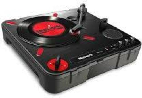 NUMARK PT01 Scratch Portable Turntable With Scratch Switch & Carry Cae