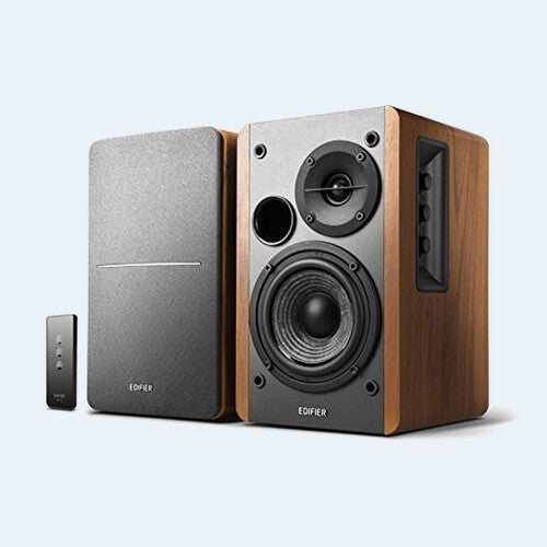 Edifier R1280T 2.0 Powered Book Shelf Speakers 42 Watts Classic WoodFinish