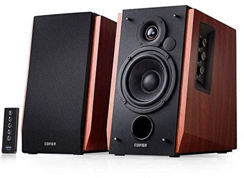 Edifier R1700BT 2.0 Book Shelf Speakers Bluetooth 66 Watts ClassicWood Finish