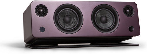 Kanto SYDMBU Bluetooth Powered Speaker with Phono Preamp and Stand Matte Burgundy
