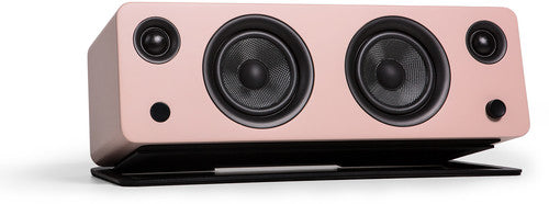 Kanto SYDMPI Bluetooth Powered Speaker with Phono Preamp and Stand Matte Pink