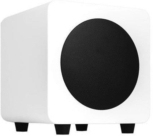 Kanto SUB6MW 6 Inch 200 Watt Powered Subwoofer Matte White