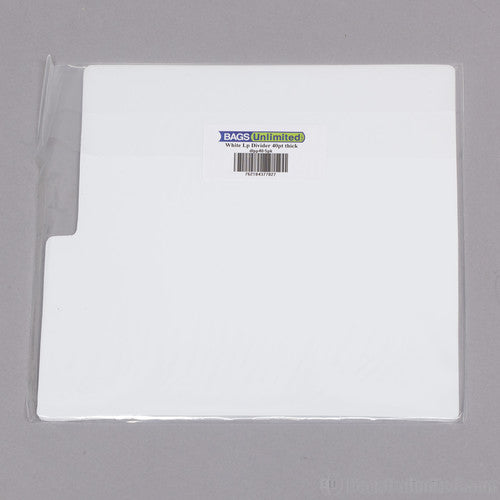 Bu DLPP405PK LP Dividers White 40 Gauge 5 Pack