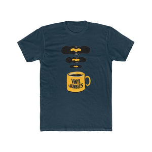 Vinyl Junkies - Coffee Logo - Men's