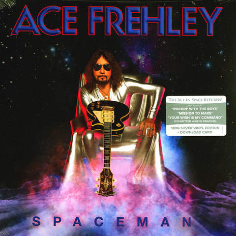 VJQC Score : 97% - Ace Frehley -  Spaceman
