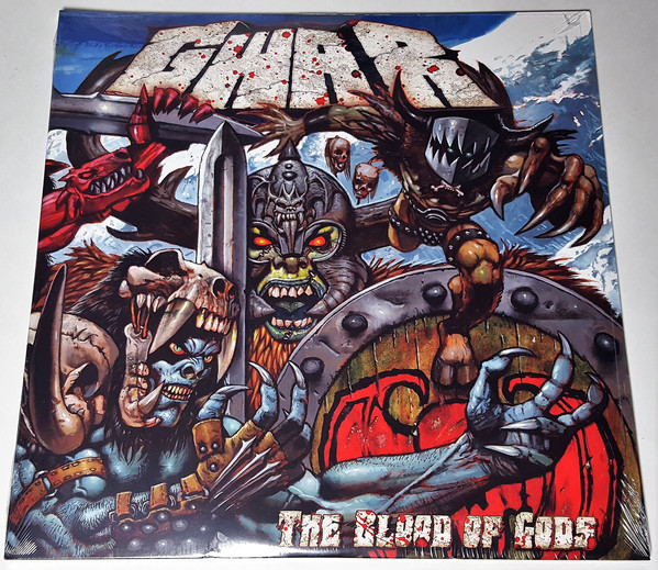 VJQC Score : 91.5% - Gwar ‎– The Blood Of Gods - Double LP