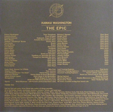 Load image into Gallery viewer, Kamasi Washington - Epic 180 Gram - Poster 3 x LP Boxset