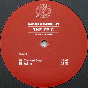 Kamasi Washington - Epic 180 Gram - Poster 3 x LP Boxset