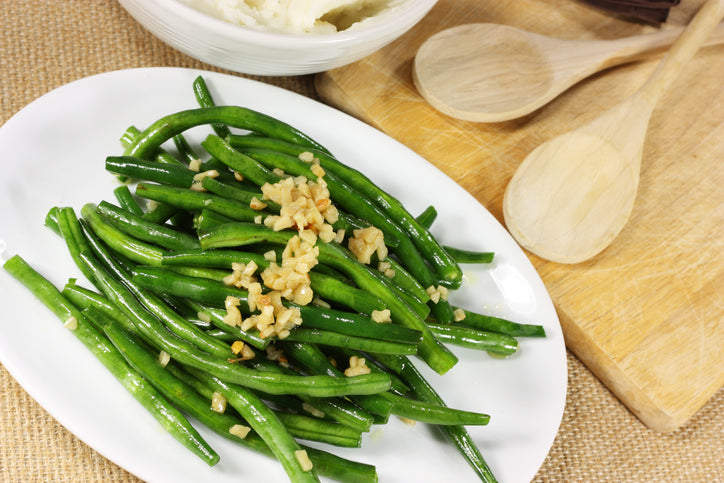 GREEN BEANS – with shallots - Holiday Meal- Home Cuisine