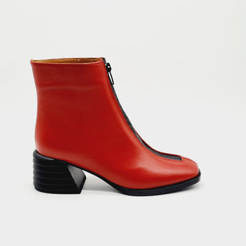 RUG 309746 RED LADIES LEATHER BOOT