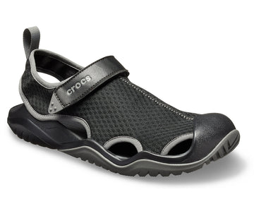 CROCS SWIFTWATER MESH DECK BLACK